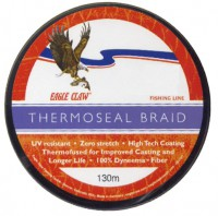 Шнур плетеный Eagle Claw Thermoseal Fluo Yellow